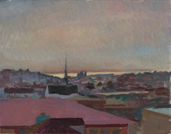 Morning Light on the Bay, San Francisco - Sold