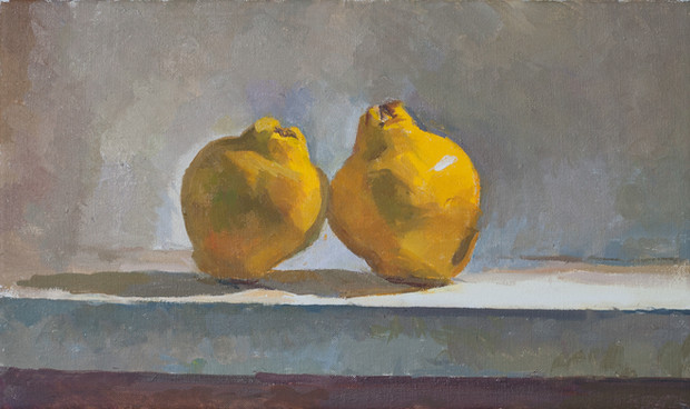 Two Quinces - Sold