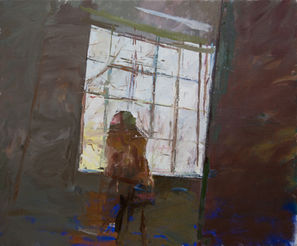 Seated Nude in Front of The Window - Sold