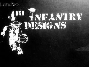 4th Infantry Vinly Sticker