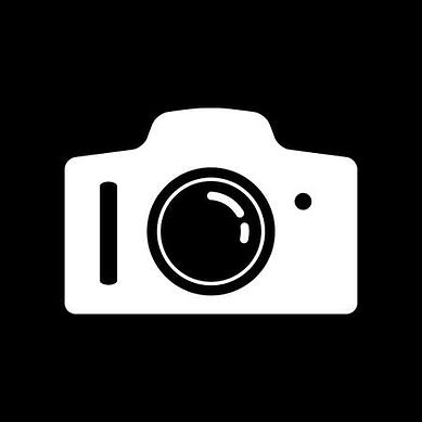 90744314-white-camera-vector-icon-on-bla