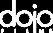 Dojo Films logo - White font no backgrou