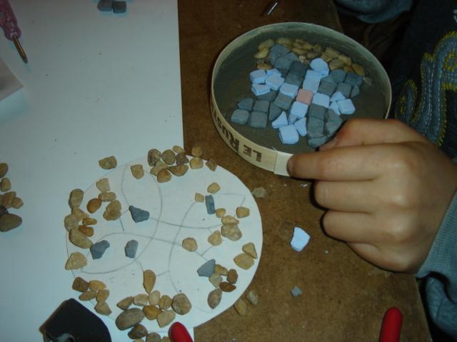 atelier mosaïque enfants, 2011