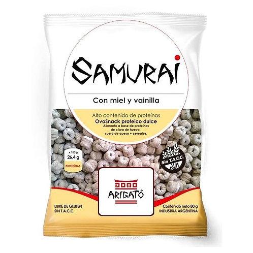 Samurai - Cereales Protéicos - Miel y Vainilla
