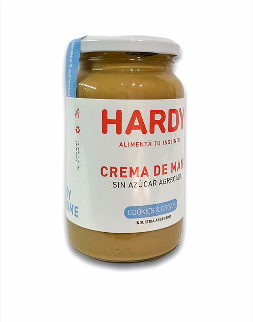 Hardy - Crema de Maní - Cookies & Cream