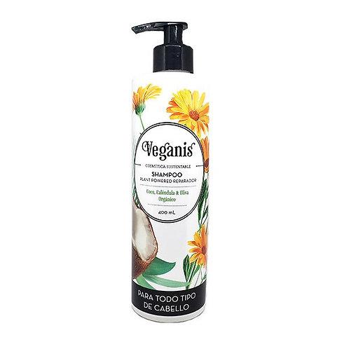 Veganis - Shampoo - Plant Powered Reparador