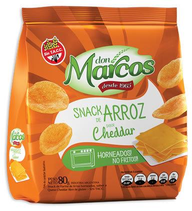 Don Marcos - Snack de Arroz - Cheddar
