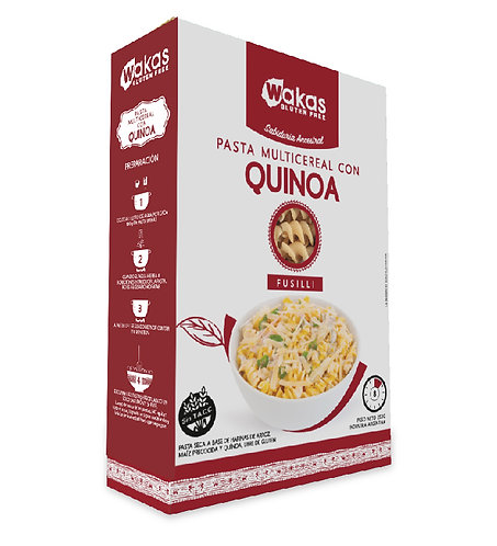 Wakas - Pasta Multicereal - Quínoa