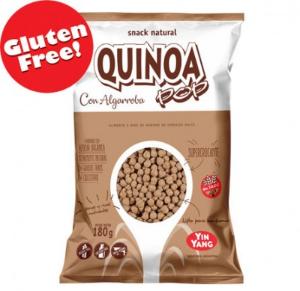 Yin Yang - Quinoa Pop - Algarroba