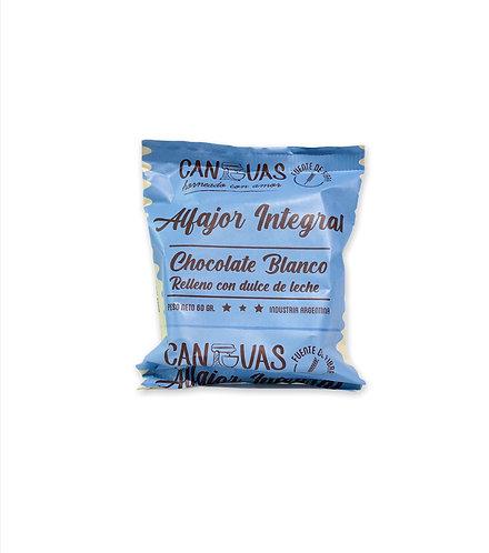 Canvas - Alfajor Integral - Chocolate Blanco
