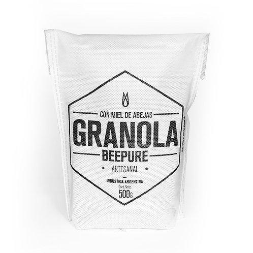 Beepure - Granola con Miel - Ecobolsa