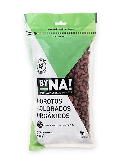 ByNa - Porotos Colorados Orgánicos Zip Pack