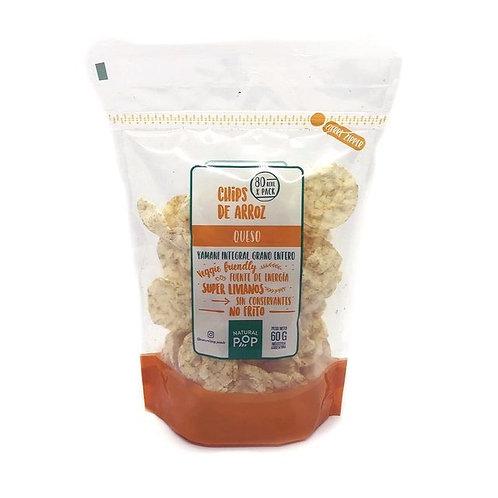 Natural Pop - Chips de Arroz - Queso