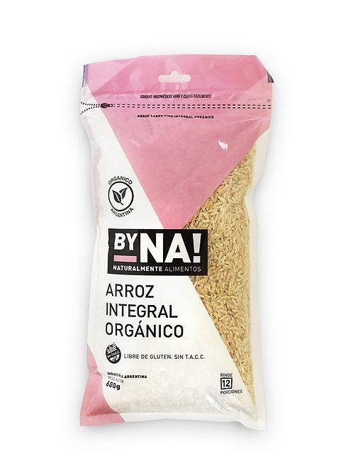 ByNa - Arroz Integral Orgánico - Zip Pack