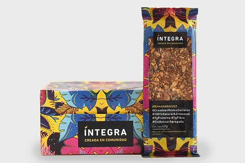 Integra - Barra - Banana y Nuez