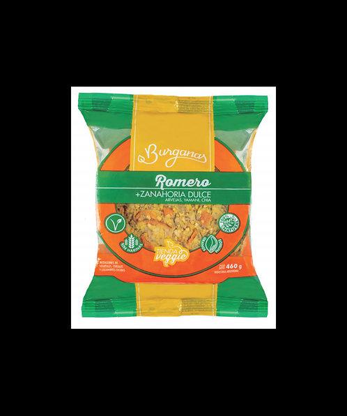 Burganas - Hamb. Veganas - Romero y Zanahoria Dulce