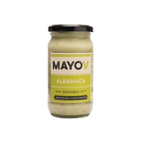 Alcaraz Gourmet - Mayo Vegana - Albahaca