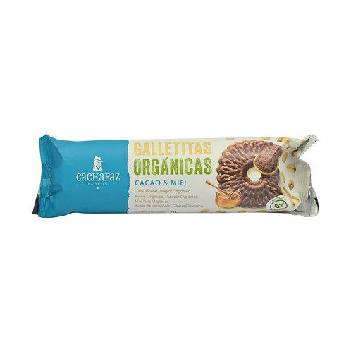 Cachafaz - Galletas Orgánicas - Cacao y Miel