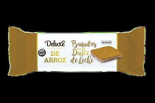 Deluxe & Blabla - Galletitas de Arroz Integral - Dulce de Leche