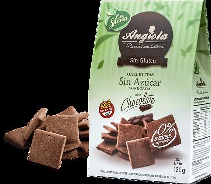Angiola - Galletita Sin Azúcar - Chocolate