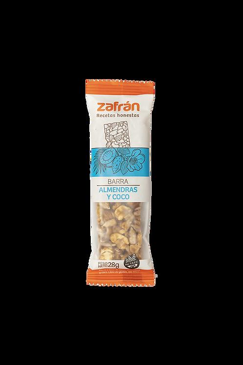 Zafrán - Barra - Almendras y Coco