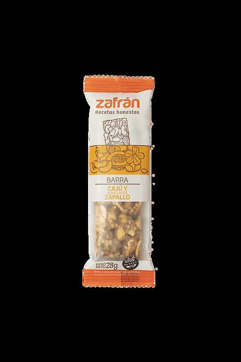 Zafrán - Barra - Cajú y Semilla de Zapallo