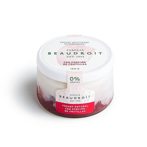 Beaudroit - Yogur Descremado - Frutilla