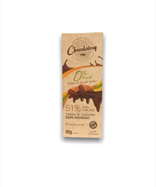 Chocolatory - Chocolate Semi Amargo 51%
