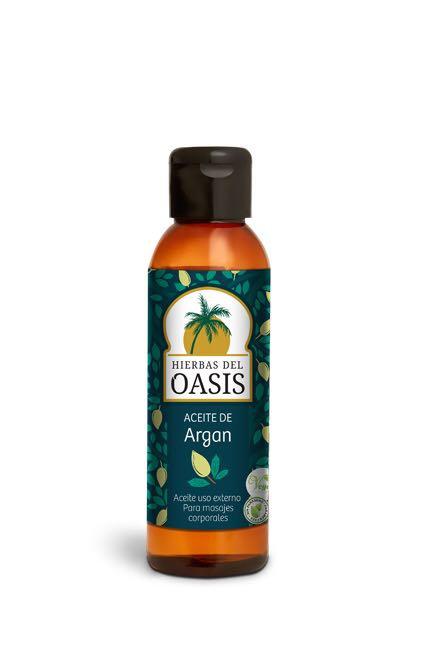 Hierbas del Oasis - Aceite de Argan - Masajes