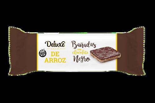 Deluxe & Blabla - Galletitas de Arroz Integral - Chocolate Negro