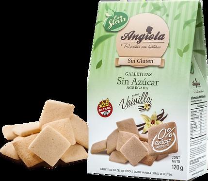 Angiola - Galletita Sin Azúcar - Vainilla