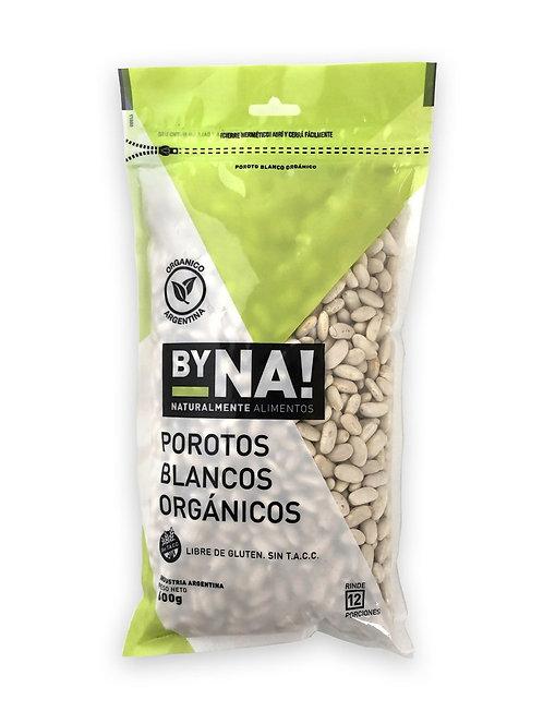 ByNa - Porotos Blanco Orgánico Zip Pack