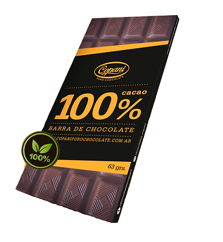 Copani - Barra de Chocolate 100% Cacao