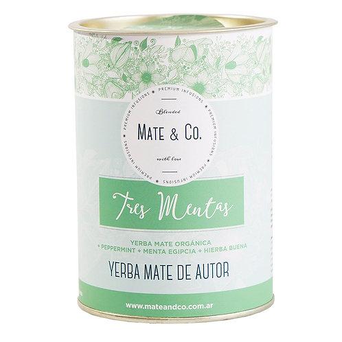 Mate&Co - Yerba Mate - Lata - Tres Mentas