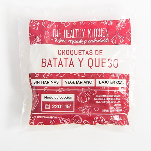The Healthy Kitchen - Croqueta - Batata y Queso