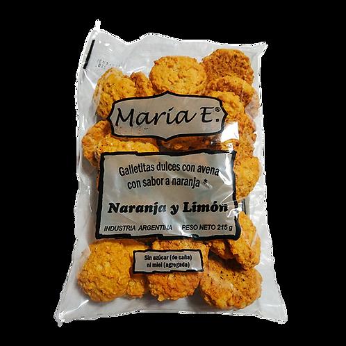 Maria E. - Galletitas sin Azúcar - Naranja y Limón
