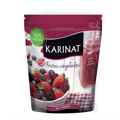 Karinat - Frutas Congeladas - Mix 3 Berries