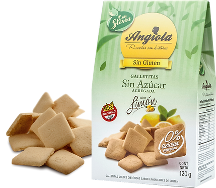 Angiola - Galletita Sin Azúcar - Limón