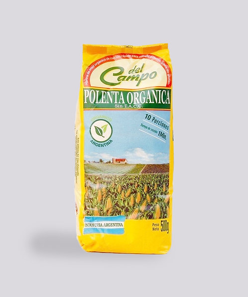Del Campo - Polenta de Maíz Instantánea Orgánica