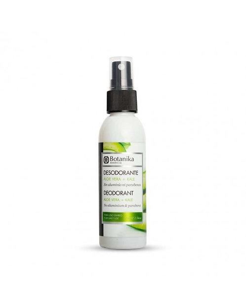 Botanika Esencia - Desodorante Spray Aloe Vera y Kale