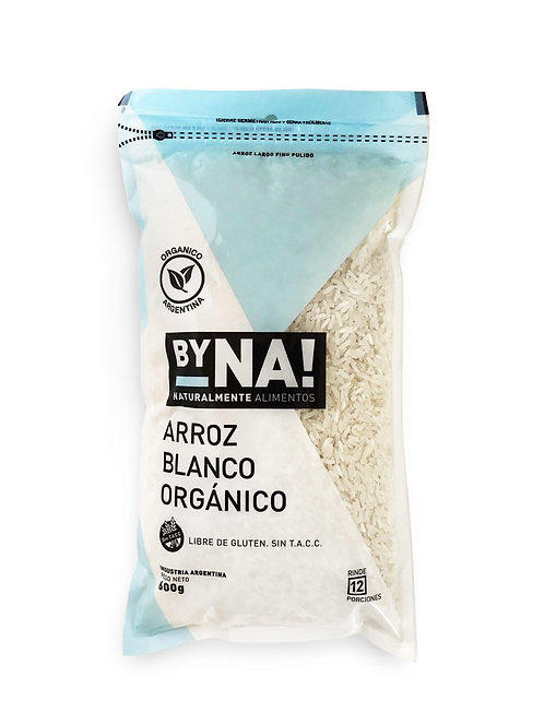 ByNa - Arroz Blanco Orgánico - Zip Pack