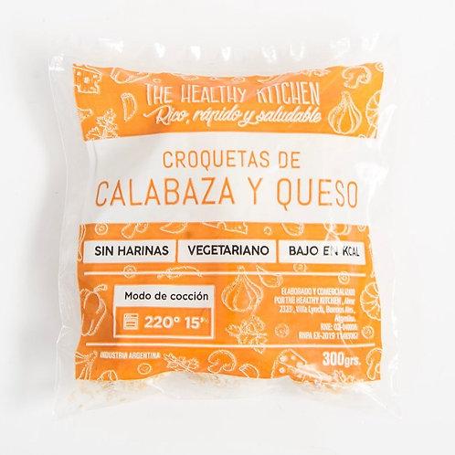 The Healthy Kitchen - Croqueta - Calabaza y Queso