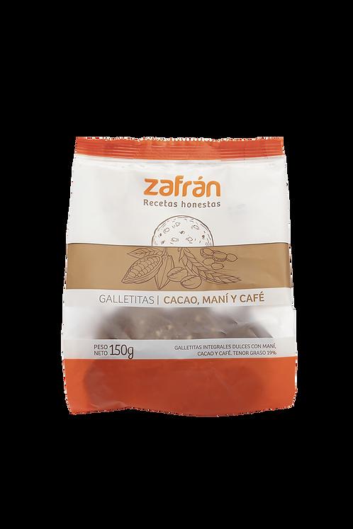 Zafrán - Galletitas - Cacao, Maní y Café