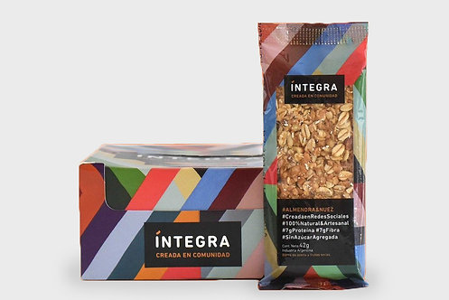 Integra - Barra - Almendra y Nuez