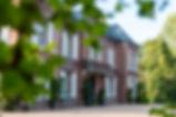 Facade du manoir des Tuileries du Buisson
