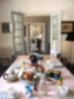 Petit déjeuner gourmand au manoir des Tuileries du Buisson
