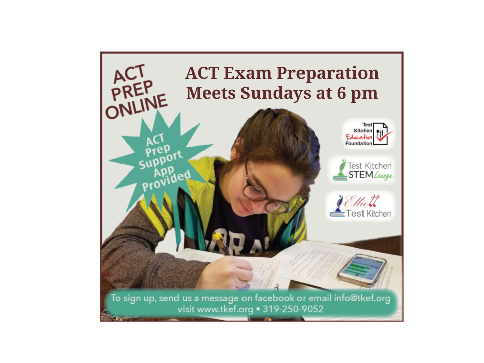 Upcoming ACT Prep Sessions