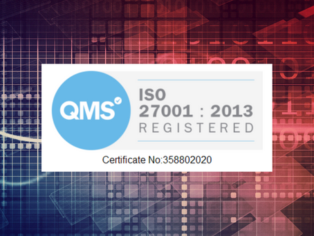 What is ISO 27001 and what does it mean to be certified?