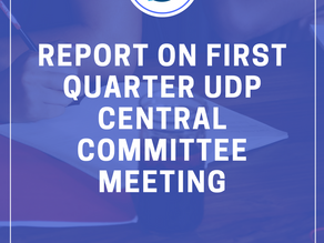 Three New UDP Issue Caucuses Approved