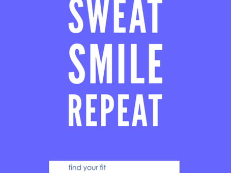Sweat, Smile, Repeat